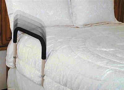 Adjustable Bedside Assistant Model 1 - Bed Rails : Bed Handles : Bed Side Rails Easily Installed.