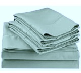 600 TC 100% Cotton Individual Sheets, Pillowcases