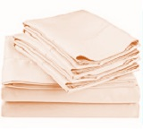 300 TC 100% Cotton Individual Sheets, Pillowcases